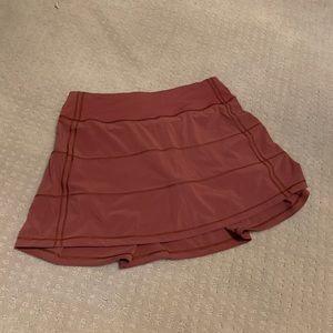 lululemon athletica Skirts - Lululemon Pace Rival (tall) skirt